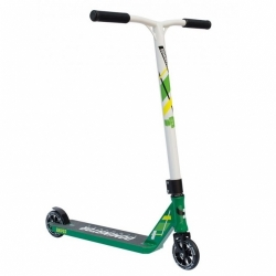 Freestyle koloběžka Dominator Sniper Scooter green/white