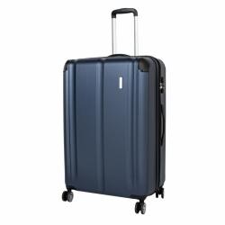 Cestovní skořepinový kufr na 4 kolečkách Travelite City L 77 cm