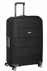 Skořepinový kufr na 4 kolečkách Travelite Makro 75 cm, kufry se zavíráním klipsy