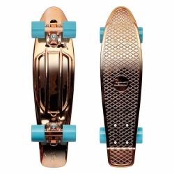 "Longboard Penny Metallic Fades 22"" rose gold"