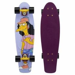 """Longboard Penny The Simpsons 27"""" rock on little dudes!"""