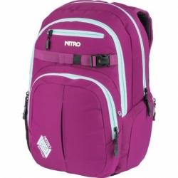 Dámský růžový studentský/městský batoh Nitro Chase grateful pink 35 L