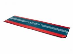 Samonafukovací karimatka Loap Solare modrá / červená 188 x 55 x 3,8 cm