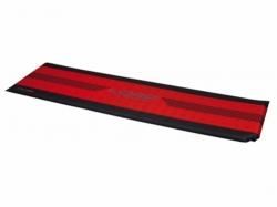 Samonafukovací karimatka Loap Solare červená / šedá 188 x 55 x 3,8 cm