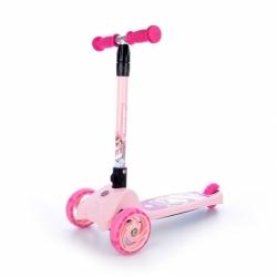Dětská skládací koloběžka se třemi koly Tempish Scooper pink / růžová