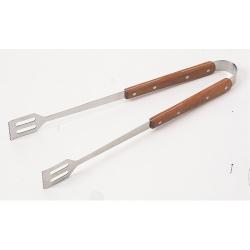 Grilovací kleště s prodlouženou dřevěnou rukojetí, kleště na grilování Campingaz
