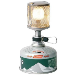 Plynová lampa Coleman, nejlehčí lampička s vysokým výkonem