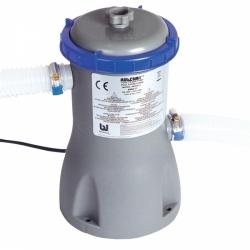 Bazénová kartušová filtrace k bazénu, průtok 3.028 l/h