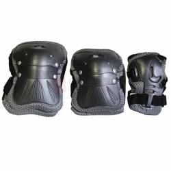 Chrániče loktů, zápěstí a kolen na kolečkové brusle Spartan