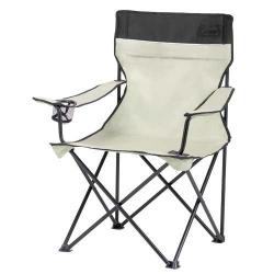 Skládací kovová židle Coleman Standard Quad béžová, campingové židle