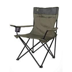 Skládací kovová židle Coleman Standard zelená, kempingové židle