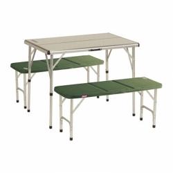 Campingový nábytek pro 4 osoby, skládací stůl a 2 lavice Coleman