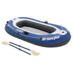 Rekreační nafukovací člun pro 2 osoby, levné čluny + pádla, pumpa
