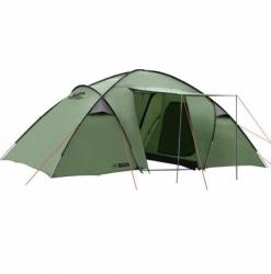 Velký rodinný campingový stan HANNAH, velké stany pro 5-6 osob, 2 ložnice naproti