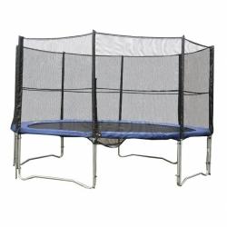 Kvalitní velká trampolína s ochrannou sítí 400 cm (4m), venkovní trampolíny pro děti i dospělé
