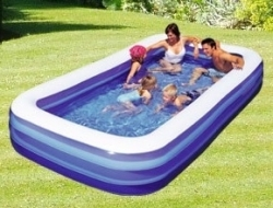 Zahradní nafukovací bazén pro děti 305 x 183 cm, nadzemní dětské bazény sleva